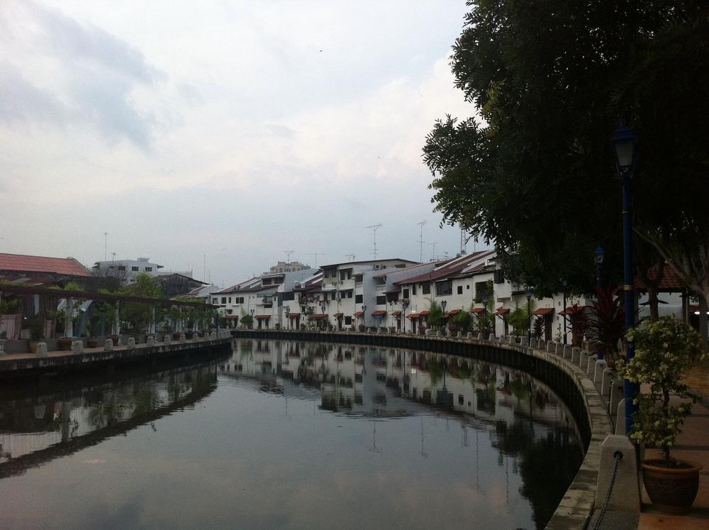 Melaka river in the day