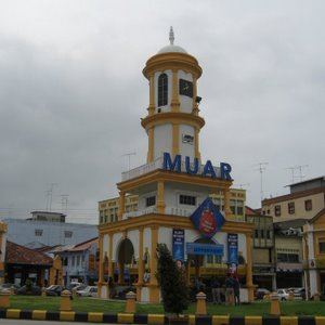 Muar clock tower