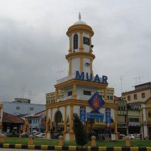 Muar clock tower