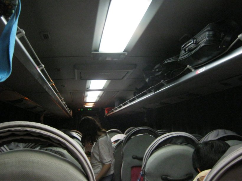 Inside Wller Express' Relax series bus