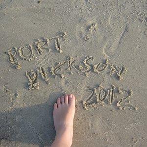 Port Dickson sand