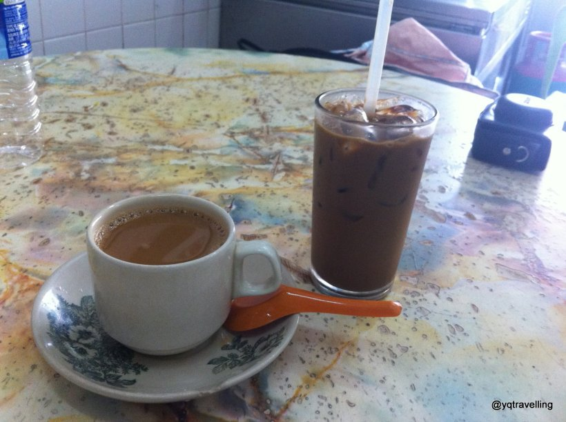white coffee in ipoh