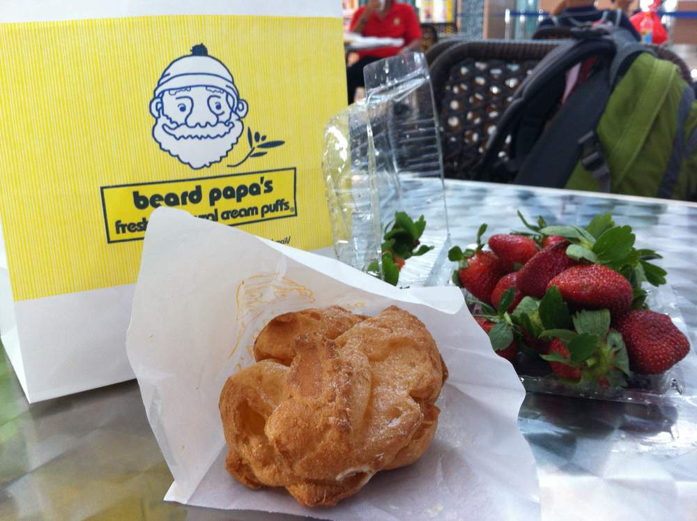 Bread Papa creampuff