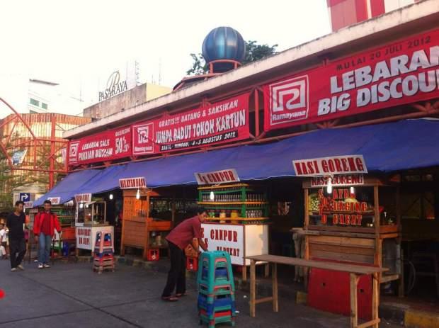 Indonesian food stall