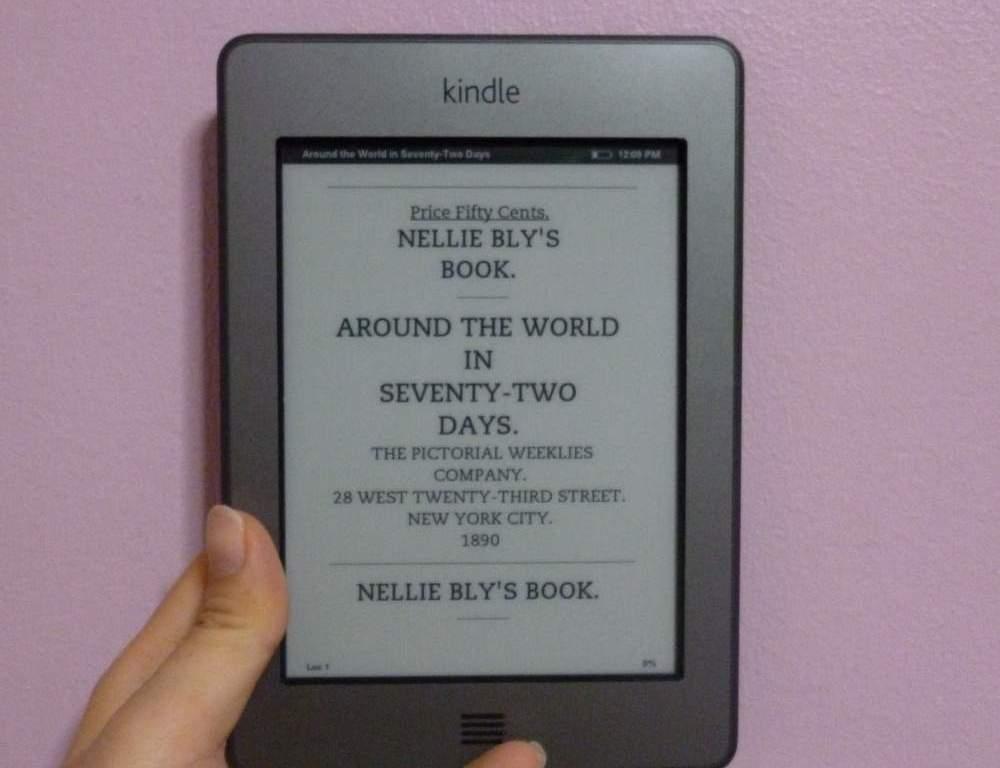 Nellie Bly's Book: Around the World in 72 Days