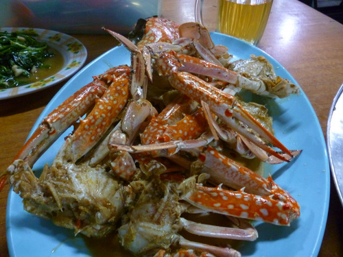 Crab in Kudat