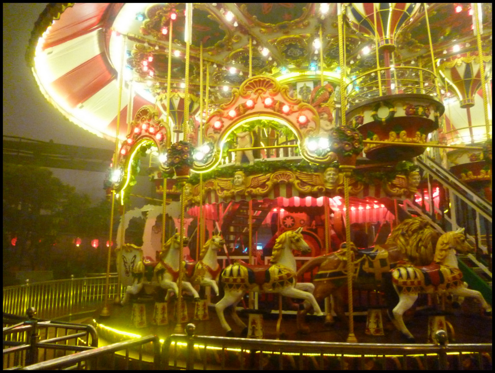 Genting Theme Park at night