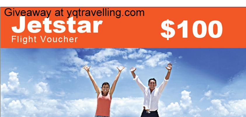 Jetstar giveaway