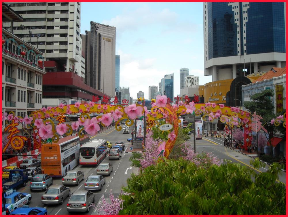 Chinese New Year in Singapore's Chinatown