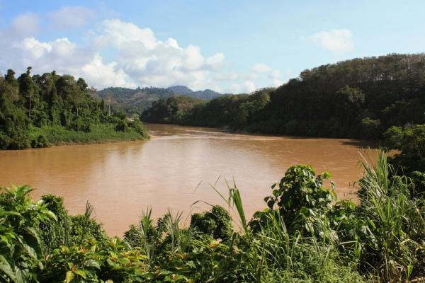 River seen from door of Jungle train