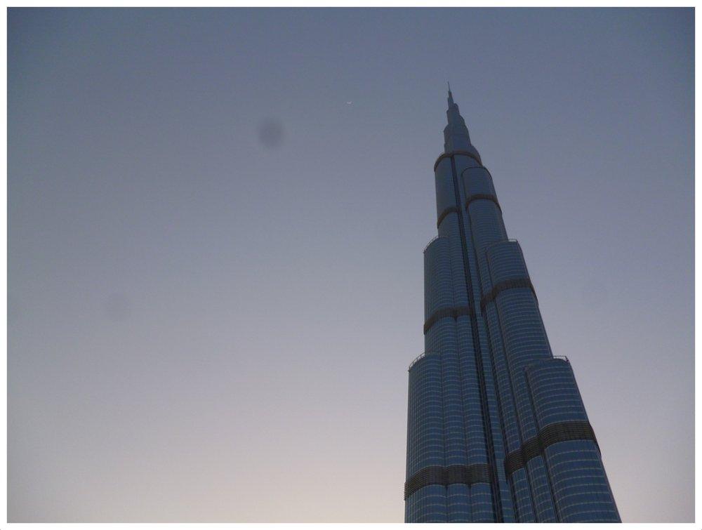Burj Khalifa aka (current) tallest building in the world