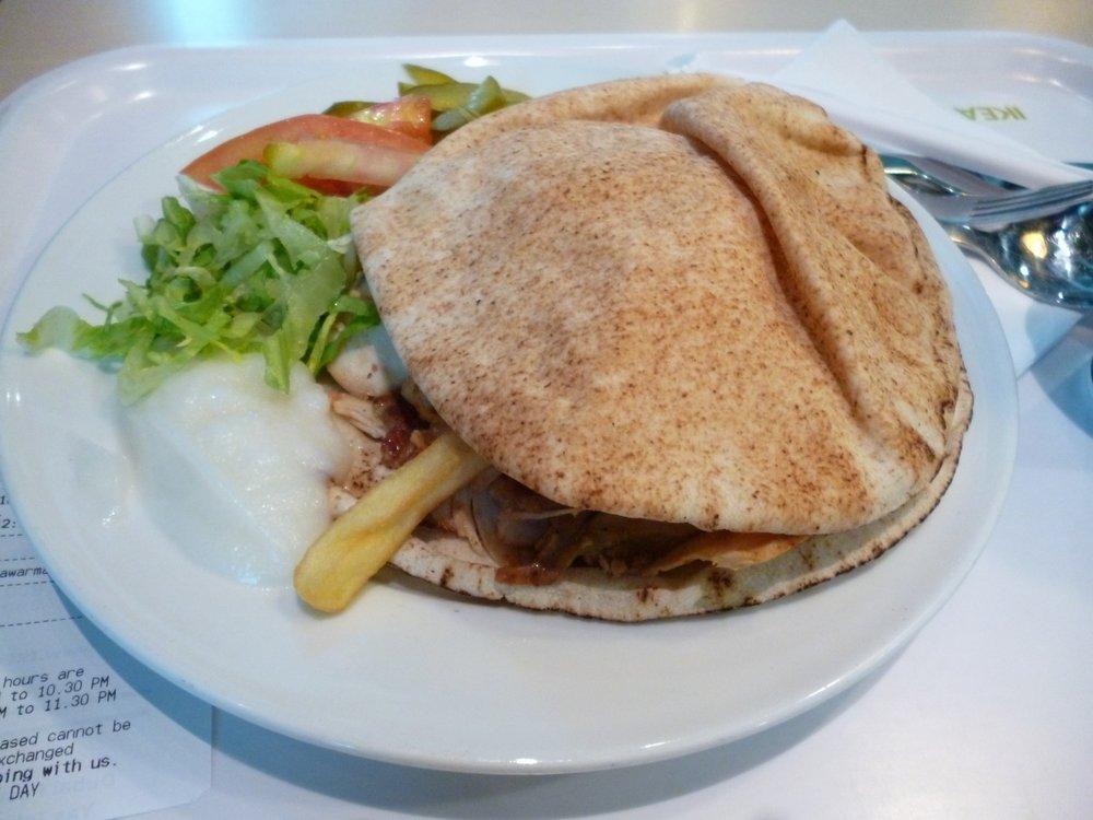 Chicken Shawarma from IKEA Dubai