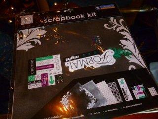 I can't even finish a scrapbook.