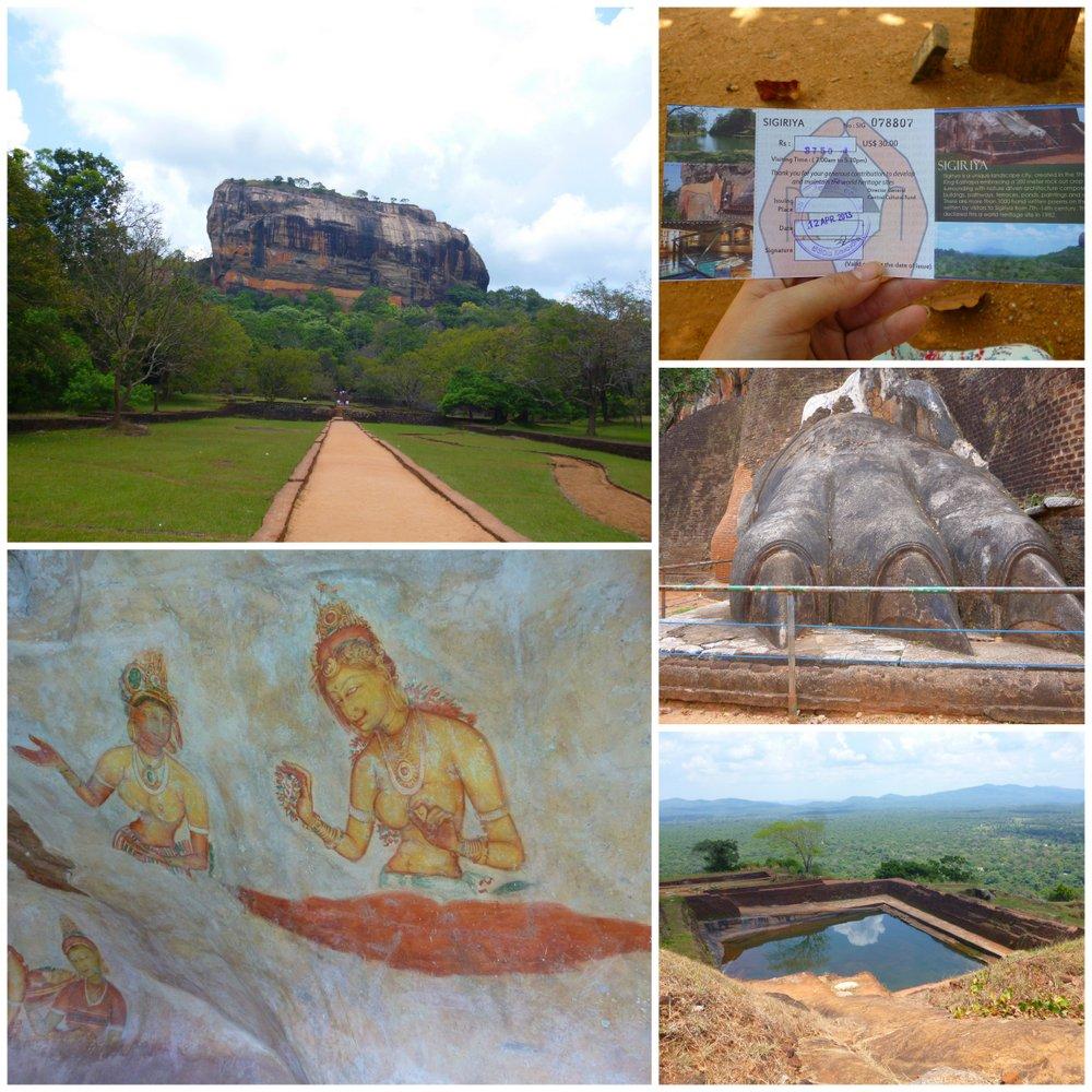 Sights of Sigiriya Sri Lanka