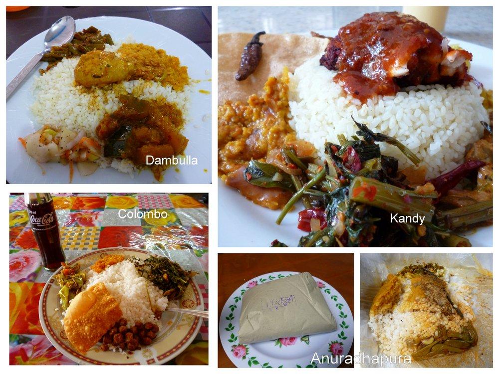 Rice and curries of Sri Lanka