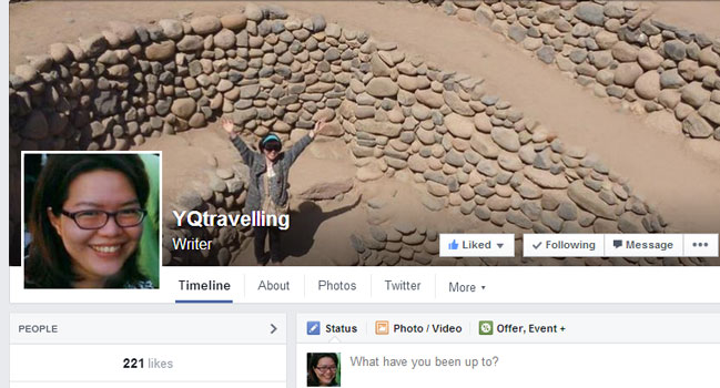 YQtravelling on Facebook