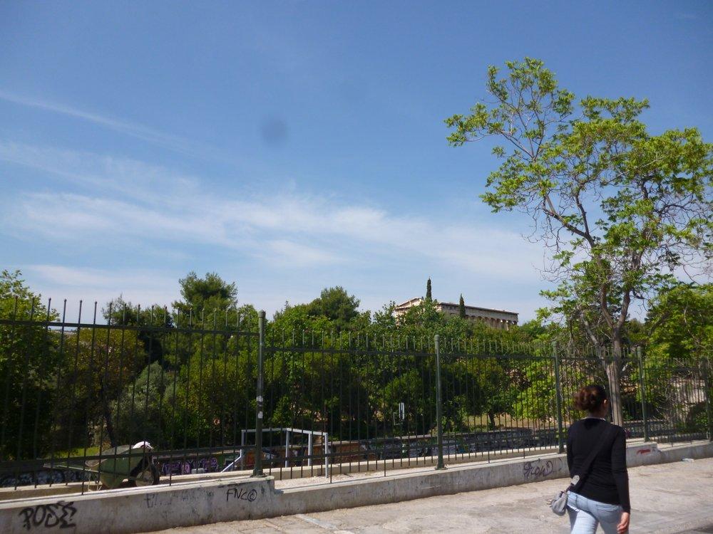 Acropolis from afar