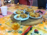 Cantuccini and vin santo