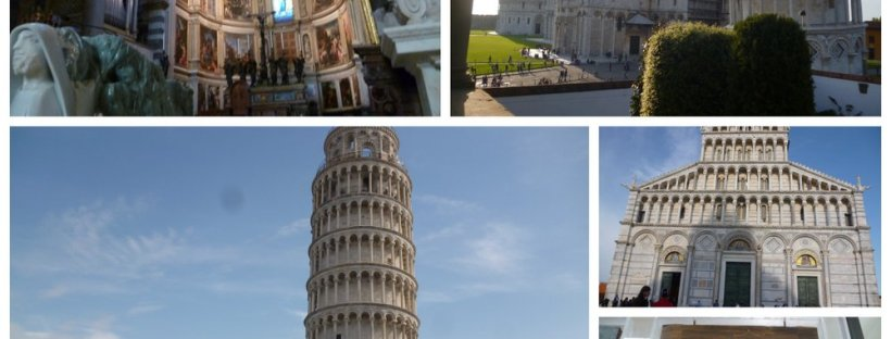 Leaning tower and friends