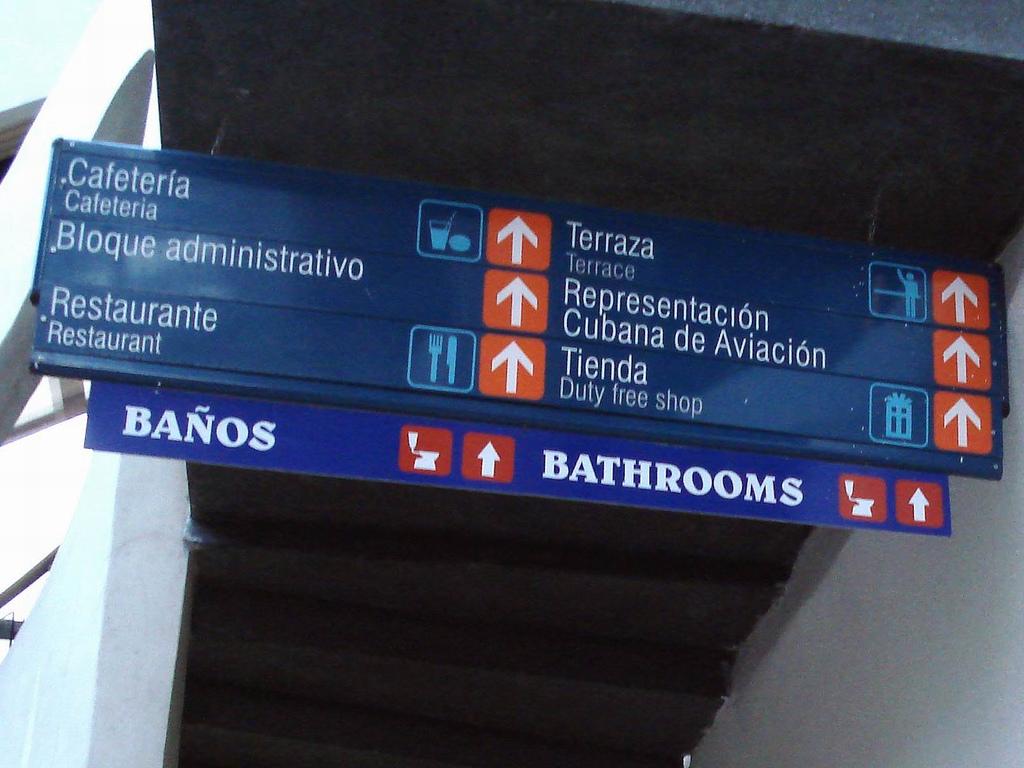 speak spanish, directions in Spanish