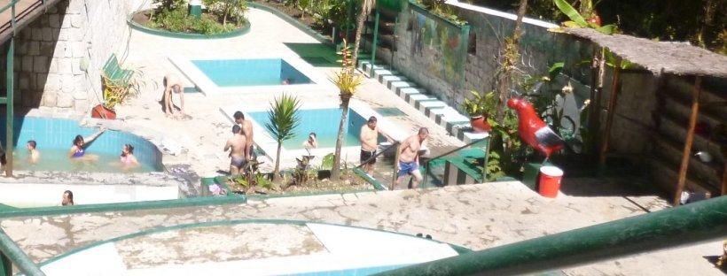 Aguas Calientes hot springs