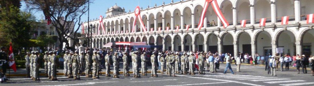 Arequipa parade