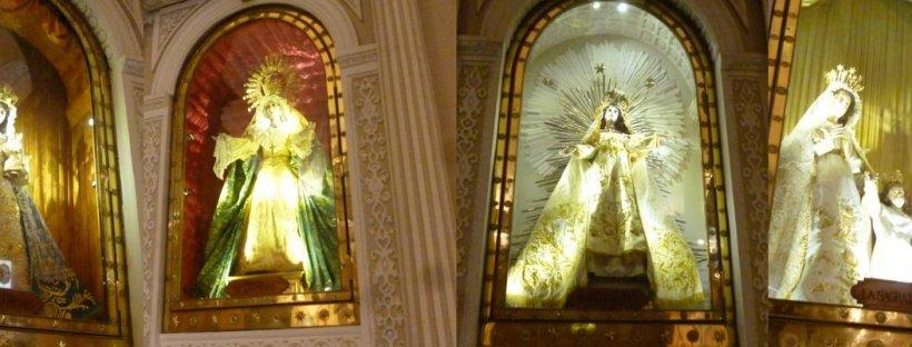 dolls in the church