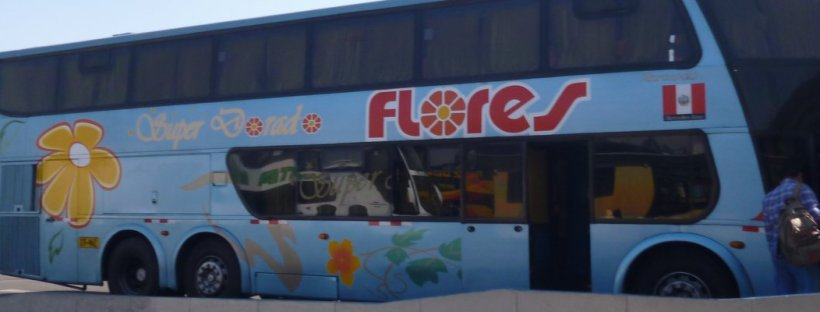 flores bus to arequipa