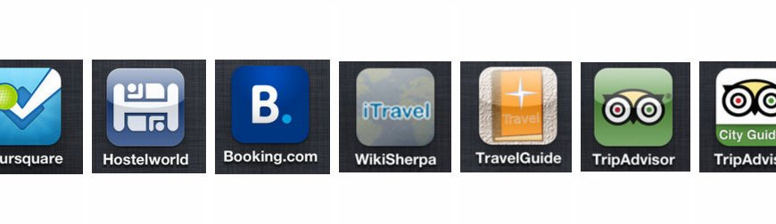 travel apps to replace a guidebook