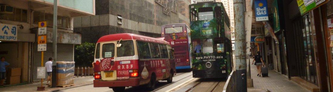 tramming in hong kong