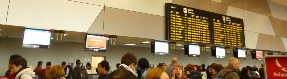 YQ at Lima airport