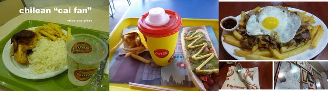 glutton in chile fast food