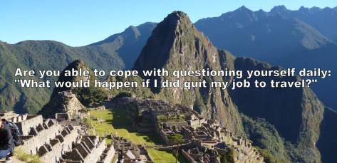 quit your job to travel