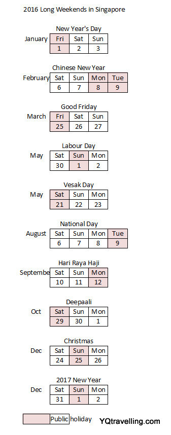 2016 long weekend singapore yqtravelling