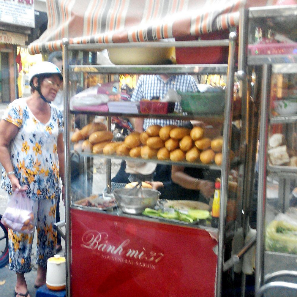 Declious banh mi in Saigon